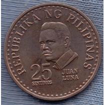 Filipinas 25 Sentimos 1978 * Juan Luna *