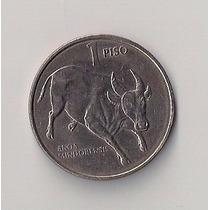 Filipinas Moneda De 1 Piso Año 1990