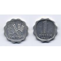 Moneda Antigua De Israel 1 Agorah Año 1970