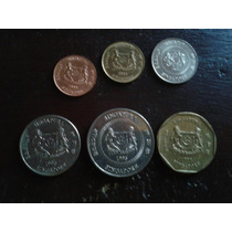 Set De Monedas De Singapur (6 Monedas)