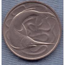 Singapur 20 Cents 1980 * Pez Espada *
