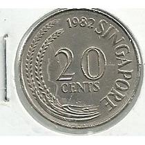 Singapur 20 Centavos 1982