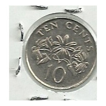 Singapur 10 Centavos 2003