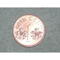 Singapur. Cobre. 1 Centavo Año 1995..