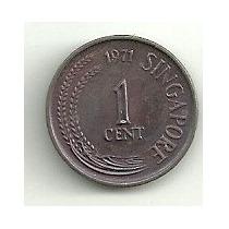Singapur 1 Centavo 1971 S/c