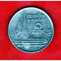 Tailandia 1 Bath Rama Ix - Templo -
