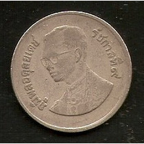 Thailandia - 1 Baht - Hermosa Moneda De 1960 -
