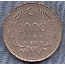 Turquia 1000 Lira 1990 * Presidente Ataturk *