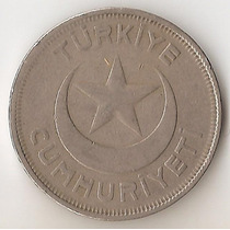 Turquia, 10 Kurus, 1940. Vf