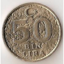 Turquia, 50 Bin Lira, 1998. Sin Circular