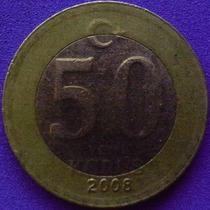 Spg - Turquia 50 Yeni Kurus 2008 ( Bimetalica ).
