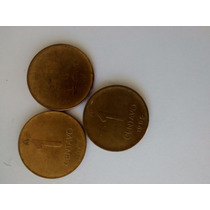 Numismatica Argentina Lote 3 Monedas 1 Cent.de Austral