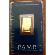 Lingote De Oro Pamp Suiza 5 Gramos En Blister Cerrado