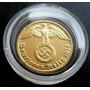 Moneda.oro Nazi.1 Pfening Bañada En Oro 24 ,en Subastas $ 1.