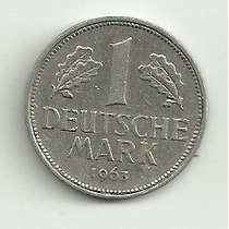 Alemania 1 Mark 1963 G