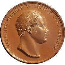 Chinacoins / Prusia 1840 Medalla F. Wilhelm I V Impactante