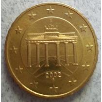 Moneda De Alemania De 10 Centavos De Euro Año 2002 Km#210