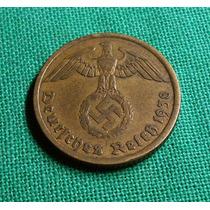 Alemania Nazi 10 Reichspfenig 1938 A Terc. Reich
