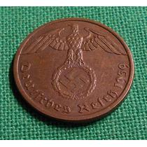 Alemania Nazi Espectacular 1 Reichspfenig 1939 A - T. Reich
