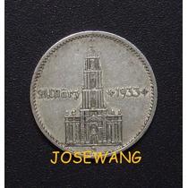2 Reichspfennig, Moneda Alemana Del Año 1934 Plata