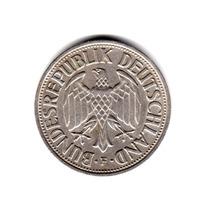 Moneda Alemania Republica Federal 1 Mark 1959 F Km#110