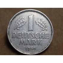 Moneda 1950 Alemania 1950 J 1 Mark - Ref B3p15 P16