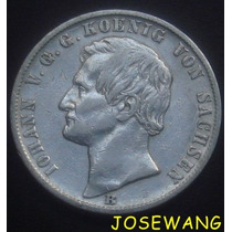 Thaler. Moneda Antigua Alemana Del Año 1869 Plata