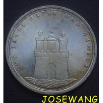 10 Mark. Moneda Alemana Del Año 1989 Plata S/c