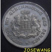 1/10 Verrechnungsmarke . Moneda Alemana Del Año 1923