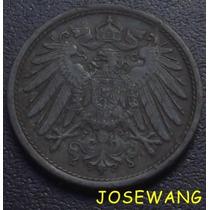 10 Pfennig. Moneda Antigua Alemana Del Año 1921