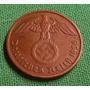 Alemania Nazi Espectaculares 2 Reichspfenig 1938 D T. Reich