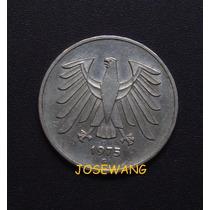 5 Mark, Moneda Alemana Del Año 1975