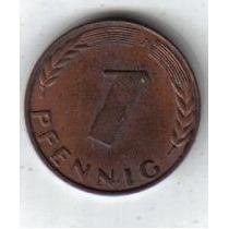 Alemania Moneda De 1 Pfennig Año 1950 J !!!!!!!!!!!!!