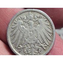 Moneda Alemania 5 Pennig 1908 Deutche Reich Germany (a20)