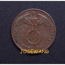 2 Reichspfenning . Moneda De Alemana Del Año1940 A