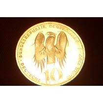 10 Mark Moneda Alemana 1997 Plata S/c