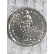 Moneda Suecia 1/2 Franc 1974 P10-9