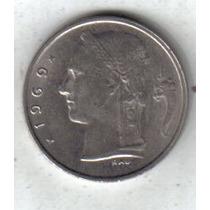 Belgica Moneda De 1 Franco Año 1969 Belgique !!!!!