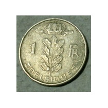 Belgica:moneda De 1 Franco (belgique) Año 1952