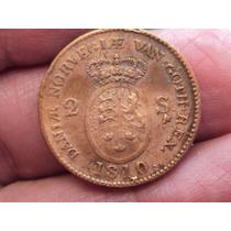 Moneda Dinamarca 2 Shilling 1810 / Ref (a 44)