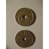 Dos Monedas Españolas( 1944/1949)