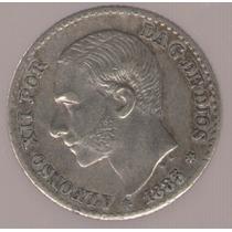 España 50 Centimos 1885 (8-6) M.s.m Exc
