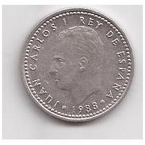 España Moneda De 1 Peseta Año 1988 !!!