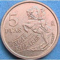 Spg España 5 Pesetas 1997 Islas Baleares.