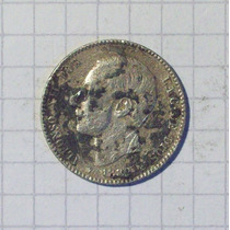 España 1 Peseta Plata 1882