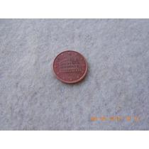 Euro 5 Centavos Italia Año 2002