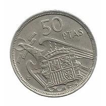 España 50 Pesetas 1957