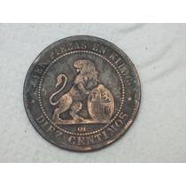 España. 10 Céntimos 1870..