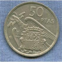 España 50 Pesetas 1957 (58) * Enorme *