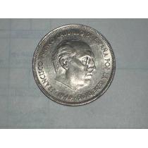 Moneda 5 Pesetas 1949 Española..